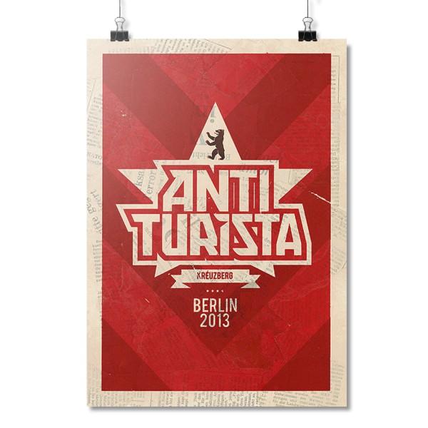 Anti Turista [Poster A2]