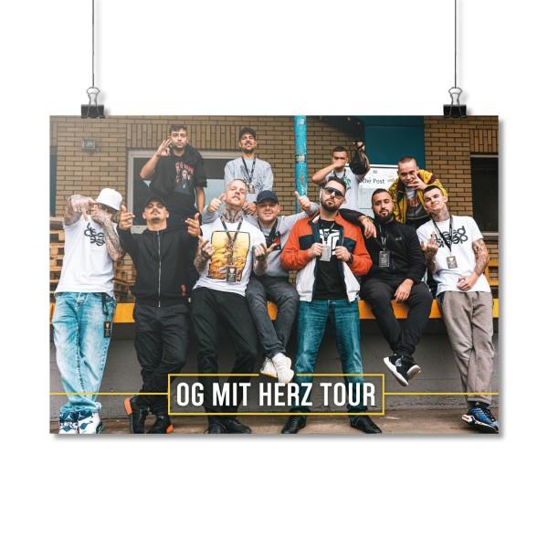 OG mit Herz Tour [Poster A2]