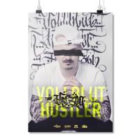 Vollbluthustler [Poster A2]